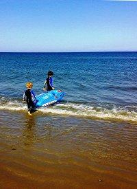 Surfing locally