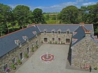 Clos na Feirme aerial courtyard view