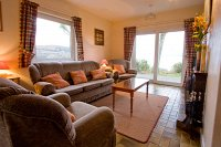 Sitting room with stunning views Cottage 3A