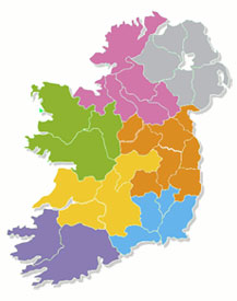 Map Of Ireland Showing Dingle.Dream Ireland Holiday Homes Irish Self Catering Accommodation