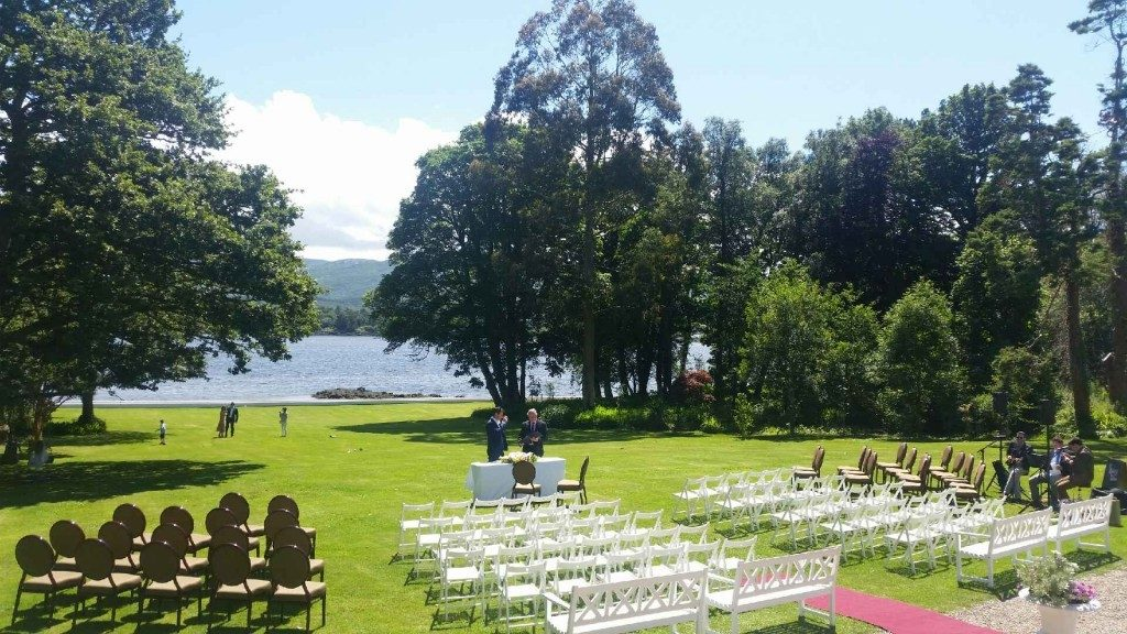 Wedding Venues Ireland - Dromquinna Manor Kenmare