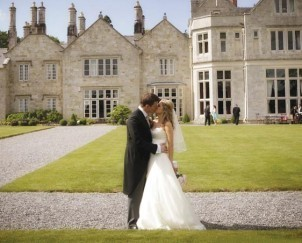 Dream Wedding Venues Ireland - Lough Rynn Castle - Brian O'Driscoll and Amy Huberman